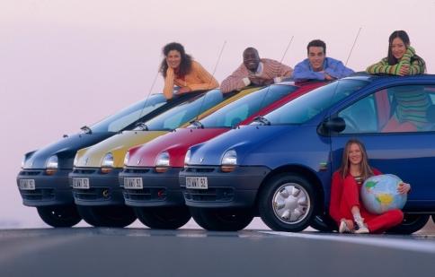 Renault kỷ niệm 20 năm ra đời của Twingo