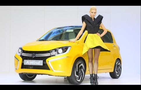Suzuki A:Wind Concept ra mắt ở Thái Lan
