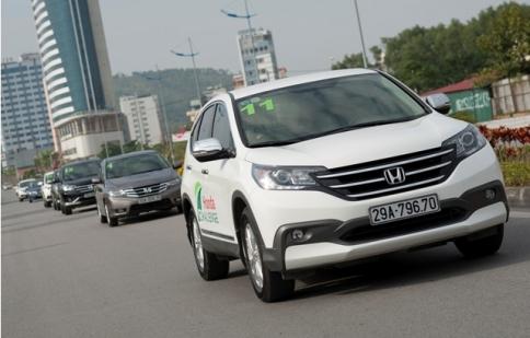 Thử thách tiết kiệm nhiên liệu cùng Honda Challenge 2013