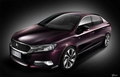 Citroën tiết lộ dòng sedan hạng sang mới DS 5LS