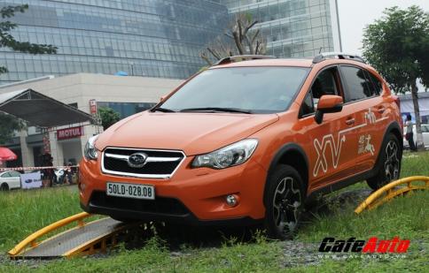 Thử thách tay lái cùng xe Subaru