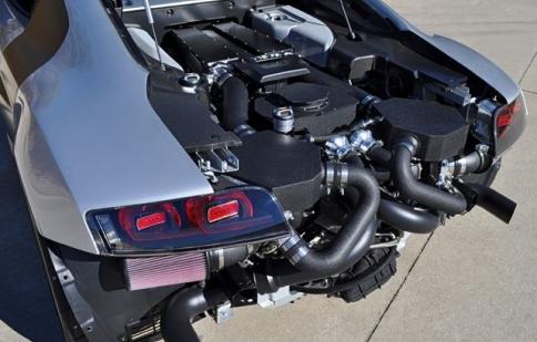 Audi R8 GT độ với sức mạnh 1.800 mã lực