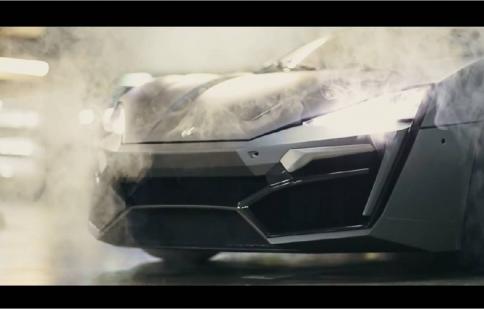 Cận cảnh siêu xe Lykan Hypersport đến từ Trung Đông