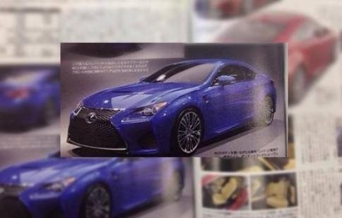 Lexus RC F 2015 có giá 100,000 USD