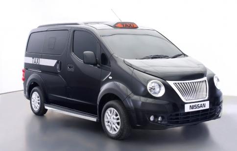 Nissan NV200 – mẫu taxi mới tại London ?