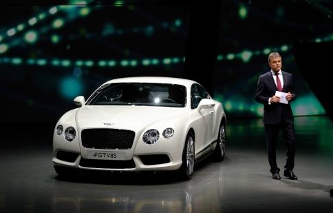 Bentley công bố doanh số ấn tượng trong năm 2013