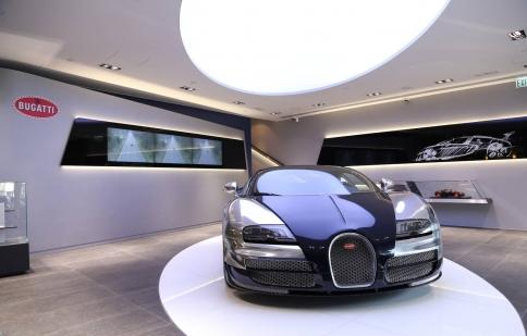 Bugatti mở cửa đại lý mới tại Hồng Kông