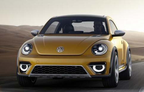 """Hình ảnh chính thức của """"xế lạ"""" Volkswagen Beetle Dune"""