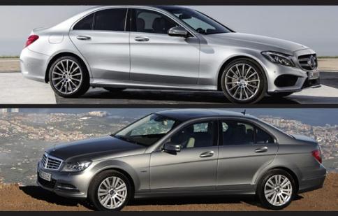 Mercedes C - Class cũ và mới có gì khác biệt?