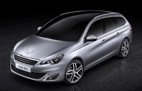 Peugeot tiết lộ 308 SW trước thềm Geneva Motor Show