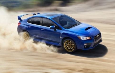 Subaru WRX STI 2015 đã sẵn sàng ra mắt