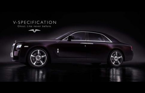 1/2014: Người Việt có thể đặt hàng Rolls-Royce Ghost V-Specification