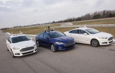 Ford khởi động dự án xe tự lái mới