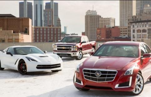 GM bán 9,7 triệu xe trên toàn cầu trong năm 2013