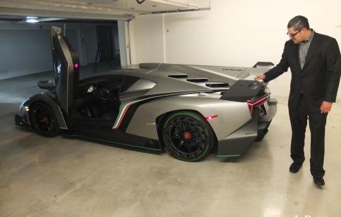 Lamborghini Veneno đầu tiên đến tay chủ nhân