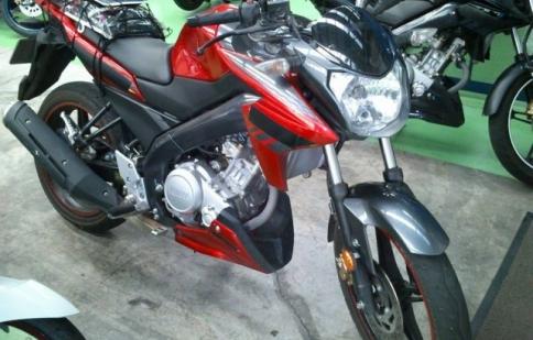 Yamaha FZ-150i 2014  lộ diện tại Malaysia
