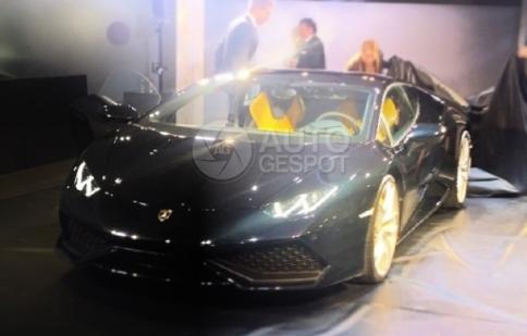 Lamborghini bí mật ra mắt Huracan