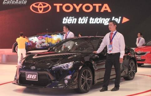 Toyota dẫn đầu sản lượng ô tô thế giới