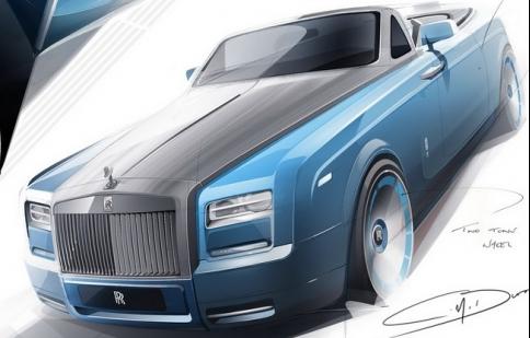 Thêm phiên bản độc cho Rolls-Royce Phantom