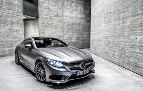 Mercedes-Benz S-Class Coupe 2015 lộ diện hoàn chỉnh