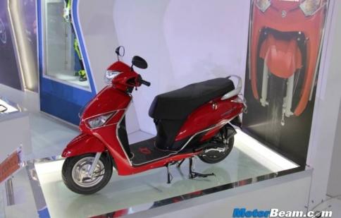 Yamaha ra mắt xe tay ga Alpha đối đầu với Honda