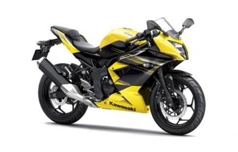 Kawasaki Ninja 250cc dành riêng cho thị trường châu Á