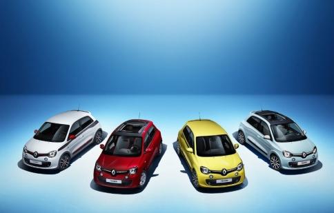 Renault Twingo thế hệ mới sắp ra mắt tại Geneva Motor Show