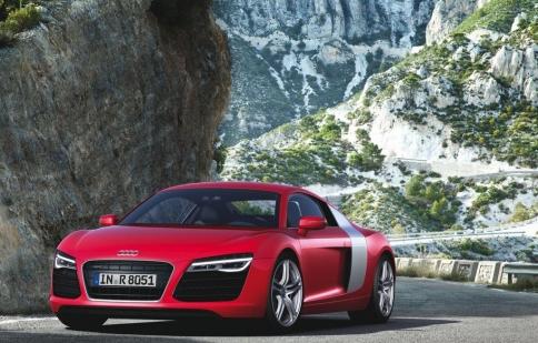 Audi sắp trình làng siêu xe R8 thế hệ mới
