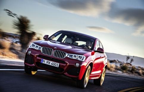 BMW X4 2015: bản thu nhỏ của X6