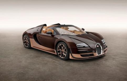 Bugatti Veyron lộ diện phiên bản huyền thoại thứ 4 - Rembrandt Bugatti