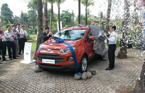 Ford Ecosport chính thức xuất hiện tại Việt Nam