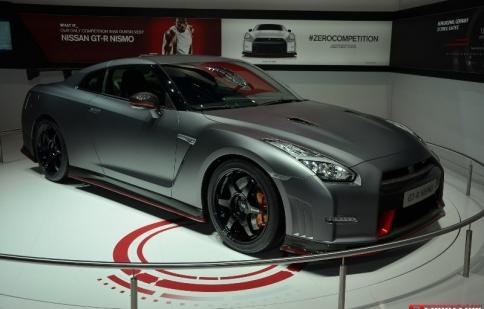 """Geneva Motor Show 2014: """"khủng long""""  Nissan GT-R Nismo ra mắt"""