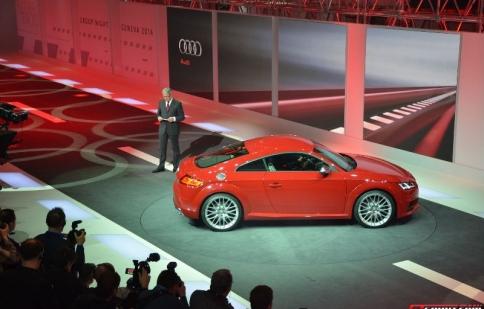 Geneva Motor Show 2014: Audi TT thế hệ thứ 3 xuất hiện nhiều nâng cấp