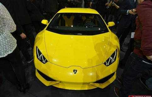 Geneva Motor Show 2014: Lamborghini Huracan LP610-4