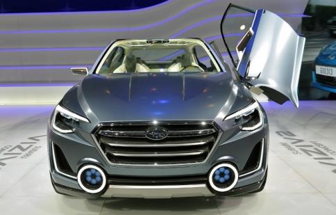Geneva Motor Show 2014: Subaru Viziv 2 tiến gần hơn đến việc sản xuất