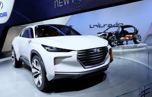 Intrado Concept: SUV trong tương lai của Hyundai