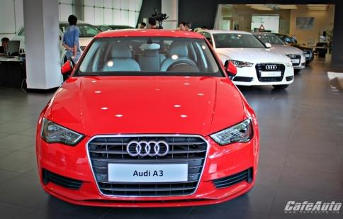 Ngắm Audi A3 sedan đầu tiên tại Sài Gòn