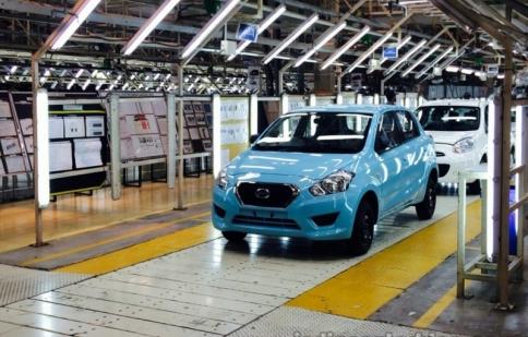 Datsun Go ra mắt thị trường với giá 100 triệu VND