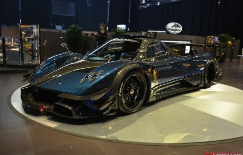 Geneva Motor Show 2014: Hàng hiếm Pagani Zonda Revolución khoe dáng