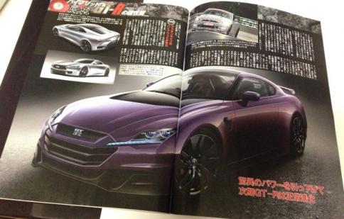 Lộ diện Nissan GT-R thế hệ mới