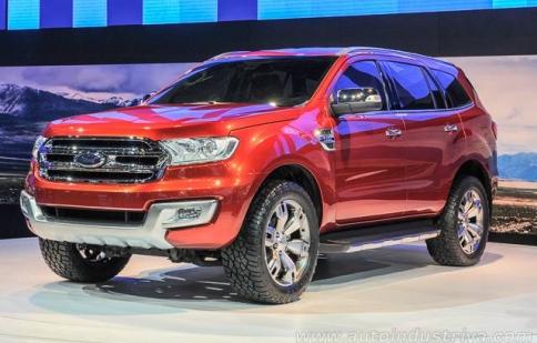 Bangkok Motor Show 2014: Ford Everest Concept 2015 sẽ được sản xuất