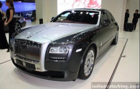Bangkok Motor Show 2014: Ngắm Rolls-Royce Ghost Phi Mã đầu tiên