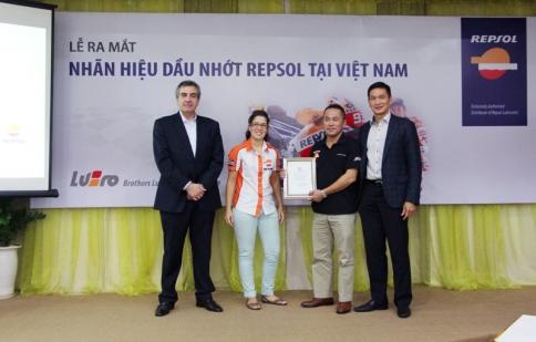Dầu nhớt Repsol chính thức có mặt tại Việt Nam