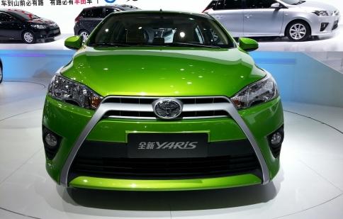 Toyota Yaris 2015 sắp về Việt Nam