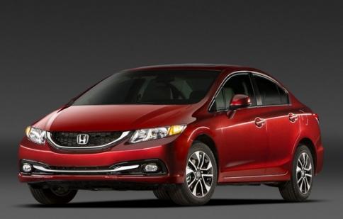 Honda thu hồi 9817 chiếc Civic LX