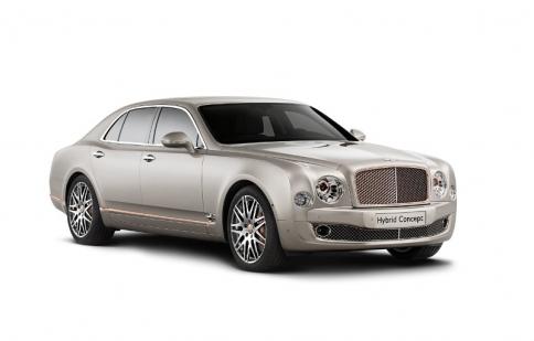 Bentley SUV lộ diện trước triển lãm