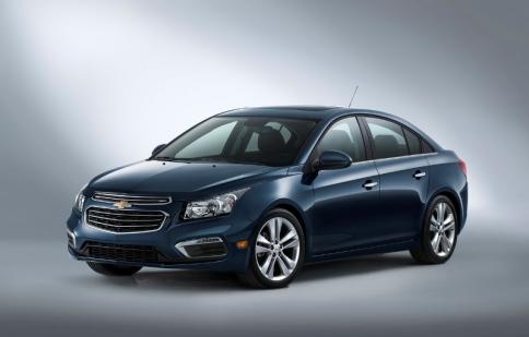 Chevrolet Cruze 2015 nâng cấp phần mềm đón New York Auto Show