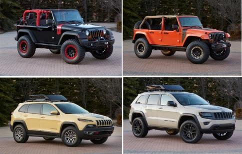 """Jeep ra mắt 6 """"chiến binh"""" mới thách thức dân off-road"""
