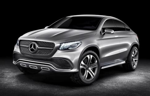 Mercedes-Benz sắp có mẫu Coupe SUV mới