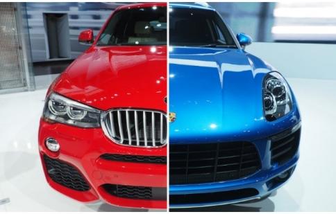 BMW X4 thách thức Porsche Macan